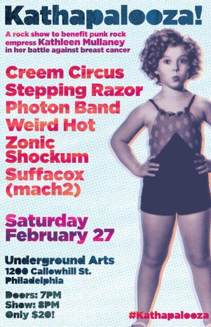 Zonic Shockum Live at Underground Arts 02/27/16