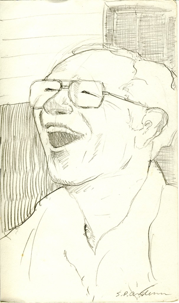 """Laughing Man"" by Stephen P. Anderson"
