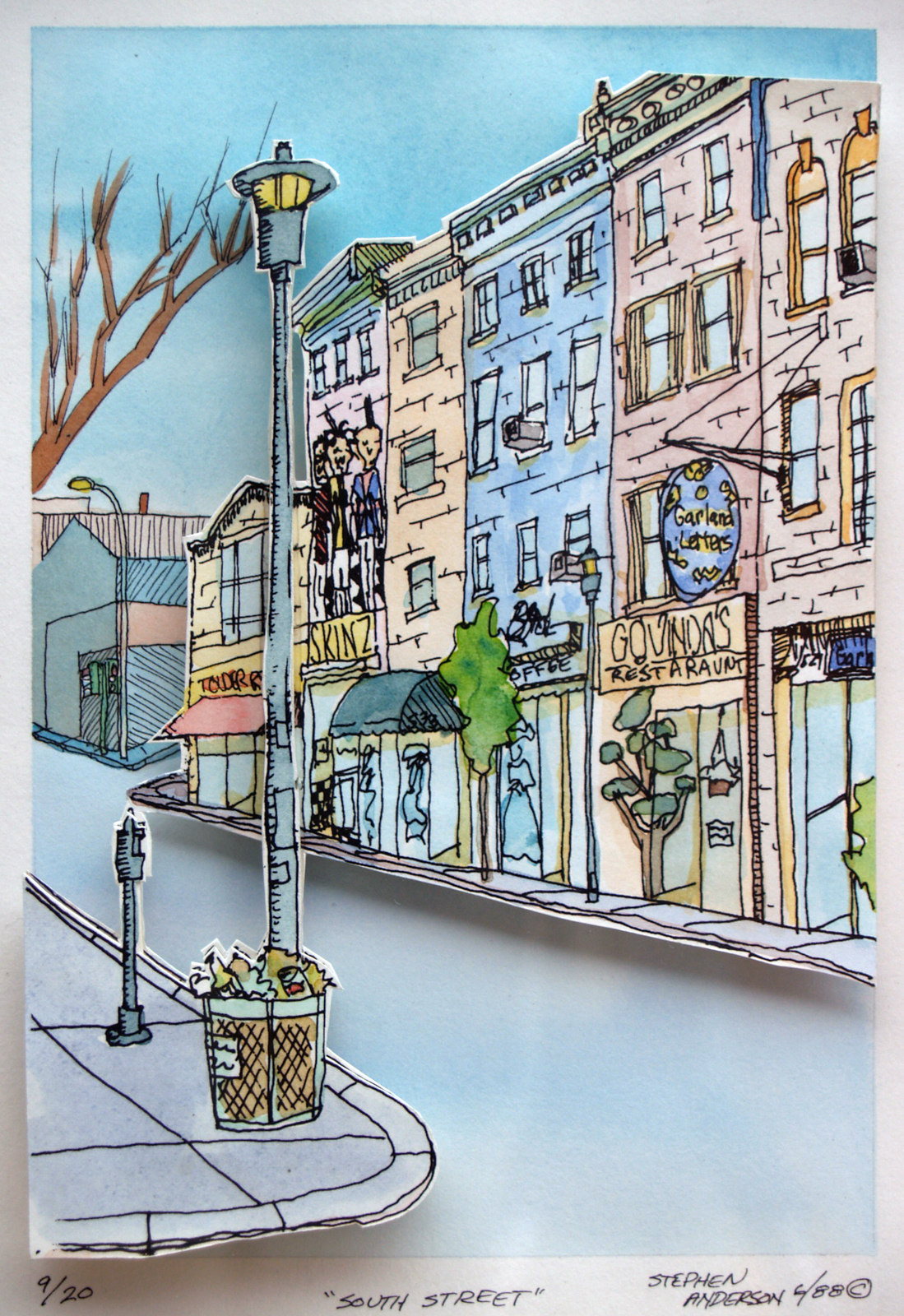 South Street I by Stephen P. Anderson
