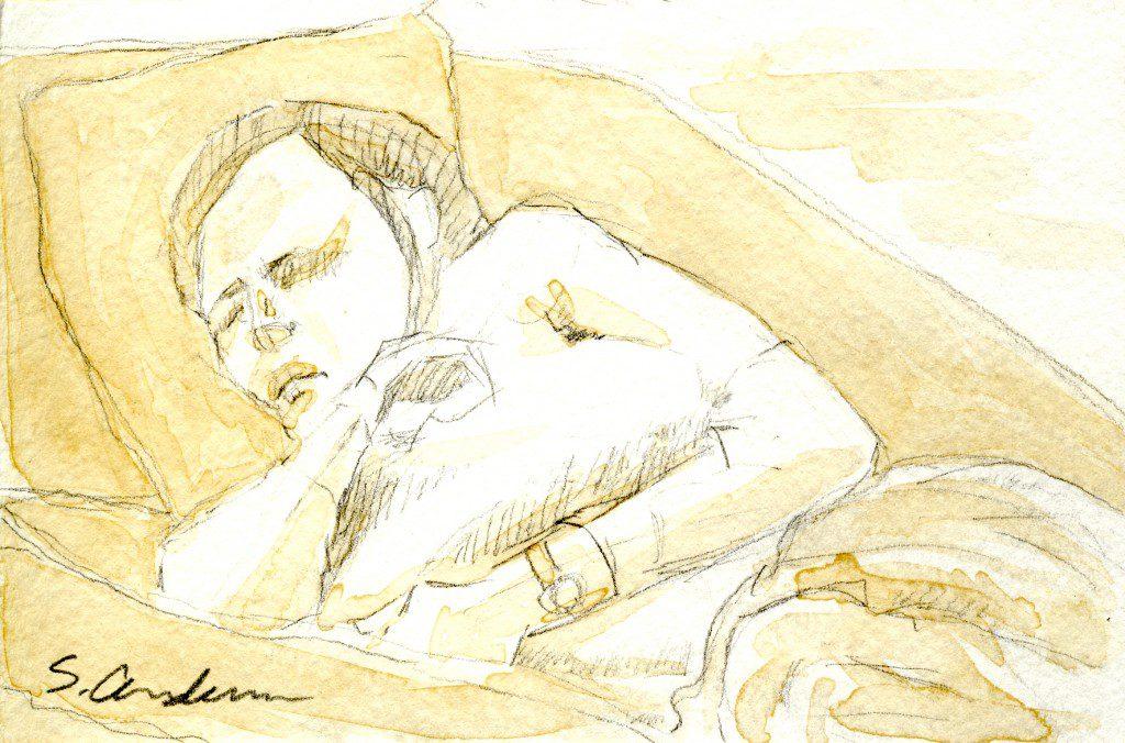 """Sleeping"" by Stephen P. Anderson"