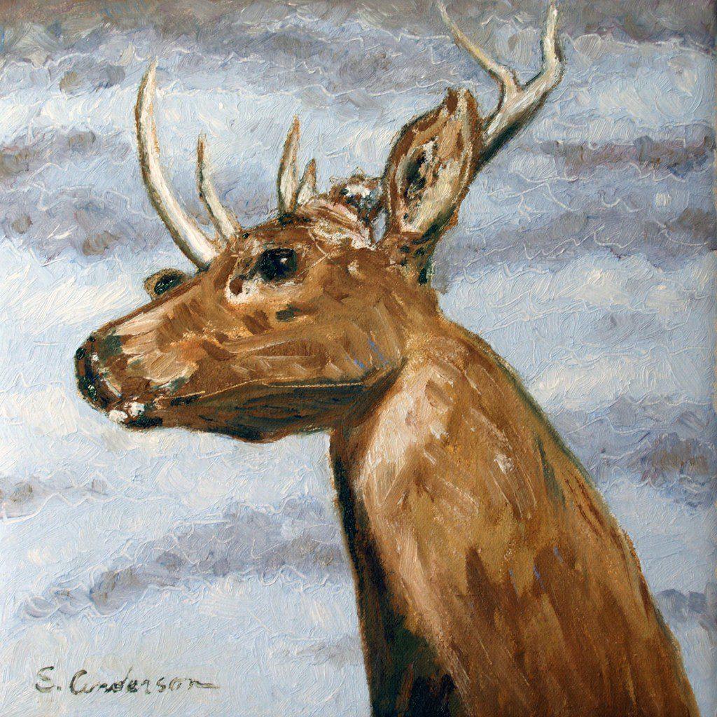 """""""Deer Head"""" - by Stephen P. Anderson"""