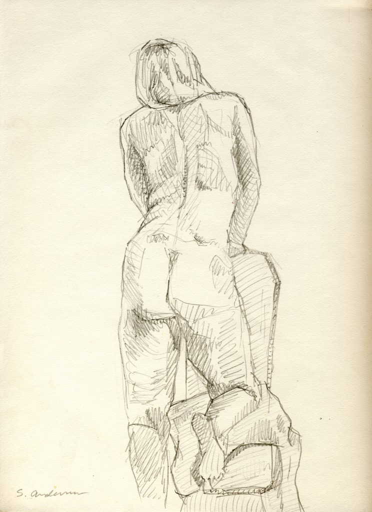 """""""Female Nude"""" by Stephen P. Anderson"""