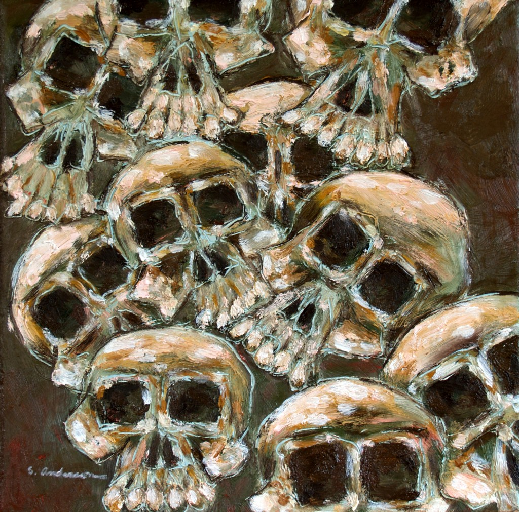 Raining Skulls by Stephen P. Anderson