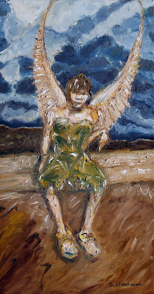 """Winged Girl"" by Stephen P. Anderson"