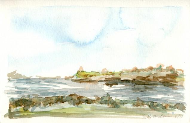 Watercolor; 2013; 9 X 6 in.