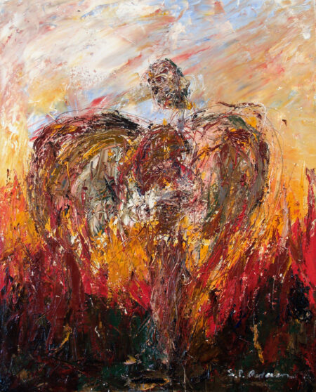 """Fire Angel III"" by Stephen P. Anderson"