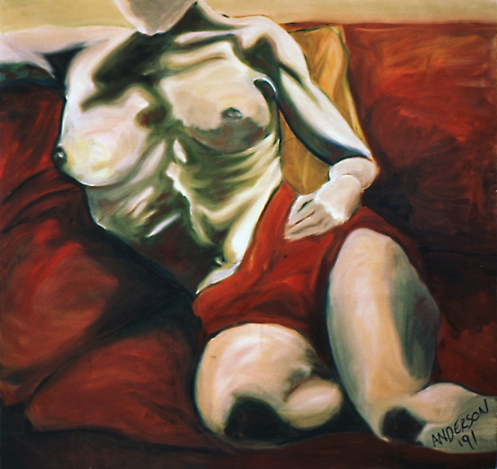 """Large Female Nude"" by Stephen P. Anderson"