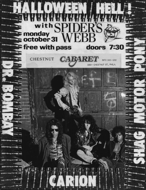 Spiders Webb featuring former members of Pure Hell