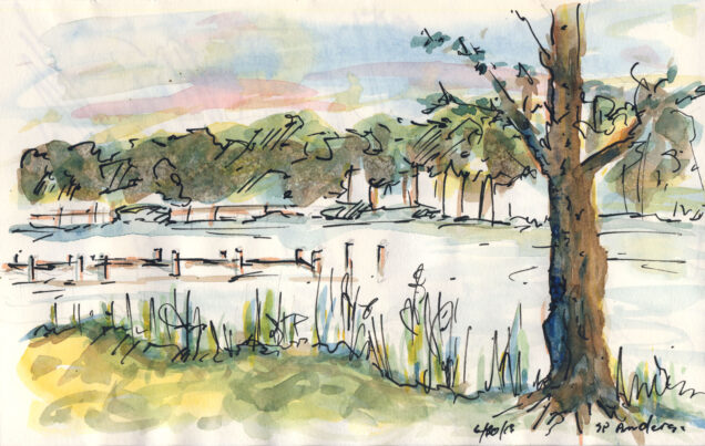 Solitude Creek, St. Michaels, MD by Stephen P. Anderson